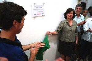Presidenta do IPHAN e prefeito de Penedo