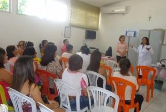 PSF's COHAB e Rosete Andrade realizam ações do 'Outubro Rosa'