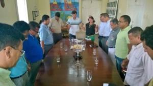 Reunião entre o prefeito Marcius Beltrão e o Conselho de Pastores de Penedo