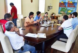 Vereadores de Penedo se reúnem com prefeito