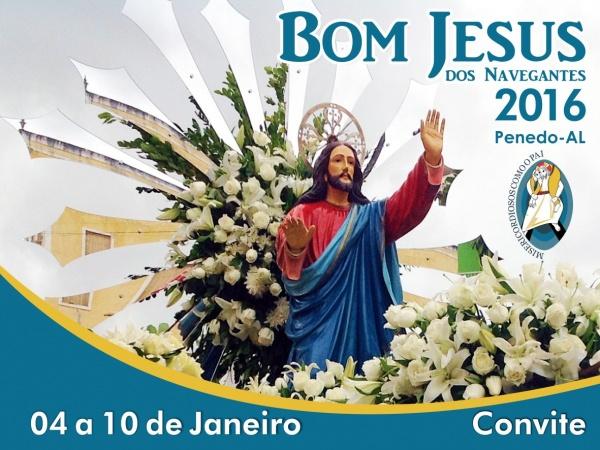 1Folder Programação Bom Jesus 2016 - Paróquia Nossa Senhora do Rosário